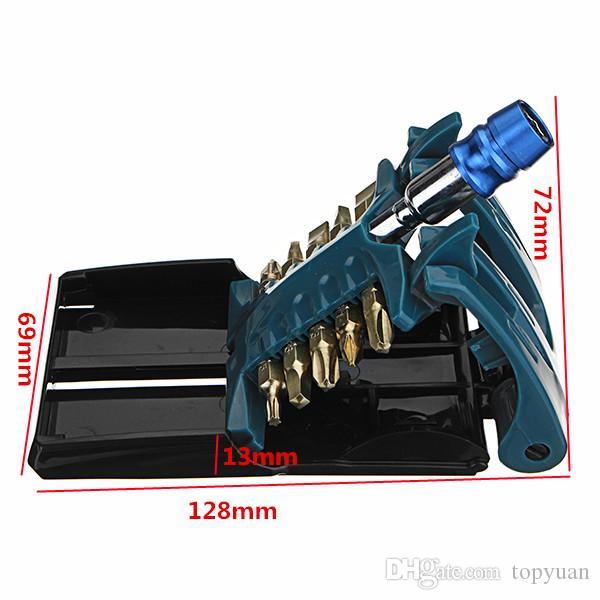bits de chave de fenda com 1/4 de polegada Hex Shank Soquete Driver Adapter Set