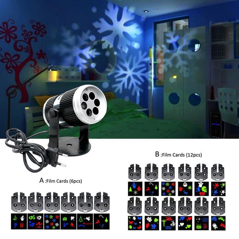 Großhandel Weihnachten Schnee Laser Projektor Outdoor Led Fairy ...