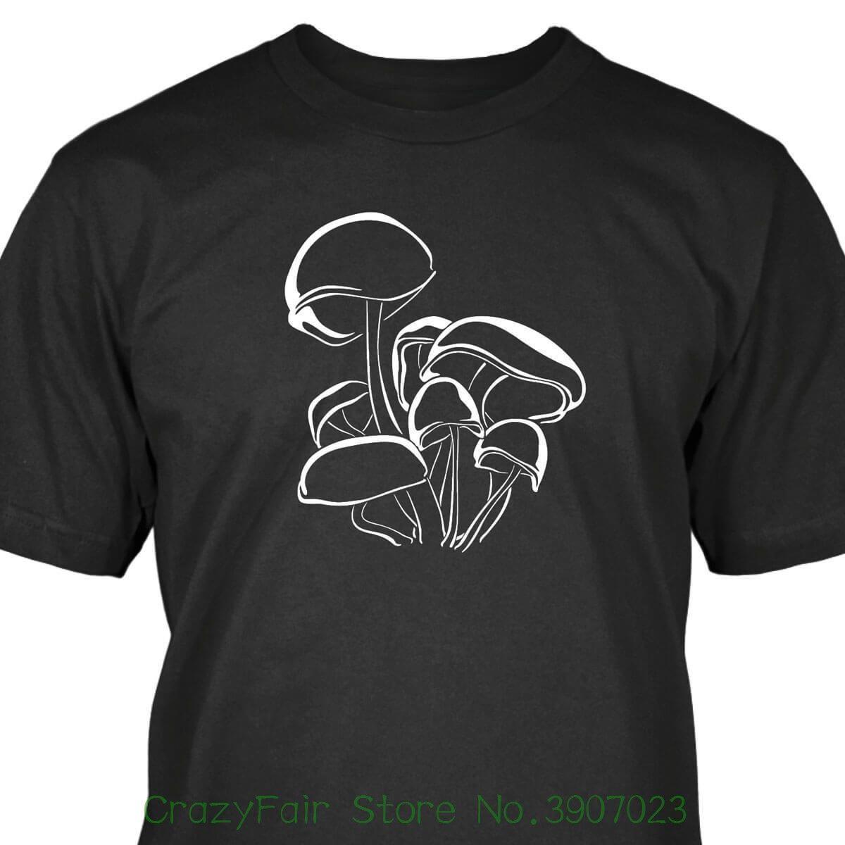 a50894da9 Magic Mushrooms T Shirt Men Tee Shirt Tops Short Sleeve Cotton Fitness T  Shirts Order T Shirts Quality T Shirts From Crazyfairstore, $24.2|  DHgate.Com