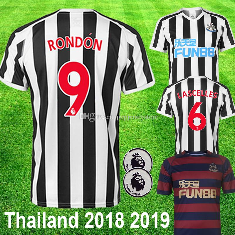 Thailand 18 19 Newcastle United RONDON Soccer Jersey 2018 2019 ... c2e7382d9