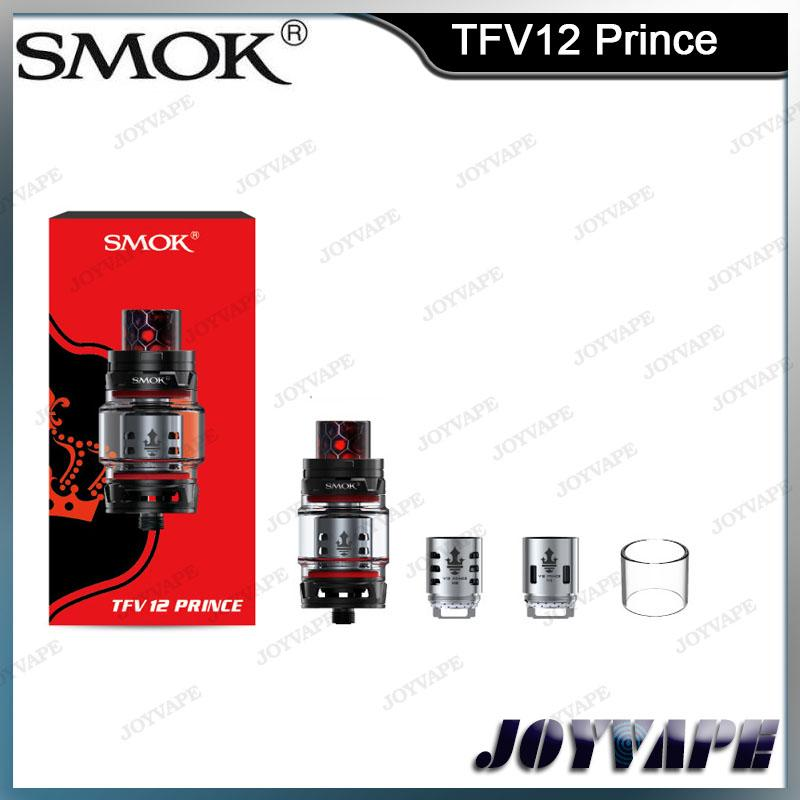 SMOK TFV12 برينس تانك كلاود أفضل ملك 8 مل بخاخ سعة كبيرة أوم مع أنبوب زجاجي محدب لـ G-PRIV 2 100٪ Original