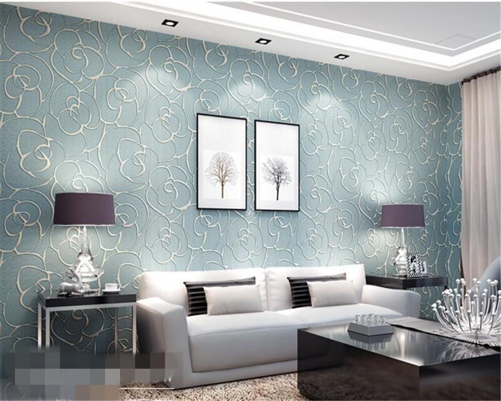 Wholesale Beibehang Papier Peint Relief Wall Paper Non Wovens ...