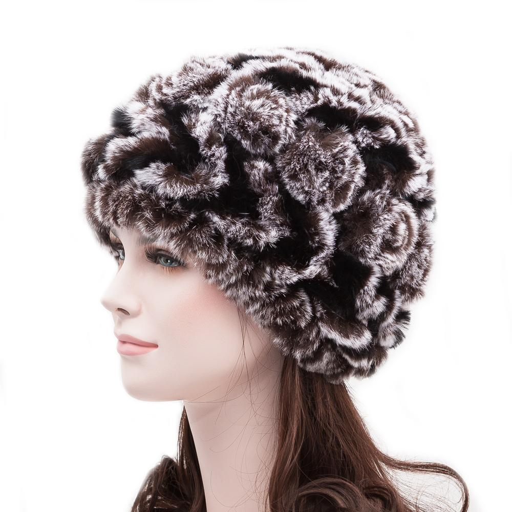 Rose Tweed /'Newsboy/' Hat Easy Knitting Pattern