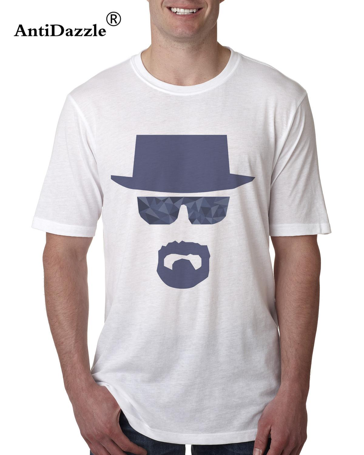 Antidazzle Breaking Bad Casual Design Men's Short Sleeve T shirt heisenberg New brand Asian Size T-shirt Tees Male O-neck