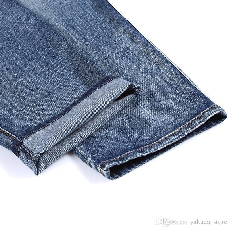 Fashion Men's Baggy Hip Hop Jeans 2018 Plus Size 30-46 Multi Pockets Skateboard Cargo Jeans For Men Tactical Denim Joggers