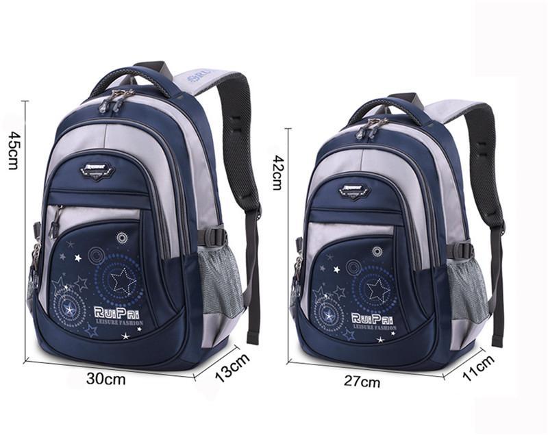 New Children School Bags for Boys Girl Back Pack Travel bag Backpacks For Teenagers Backpack Rucksack Mochila Infantil Zip