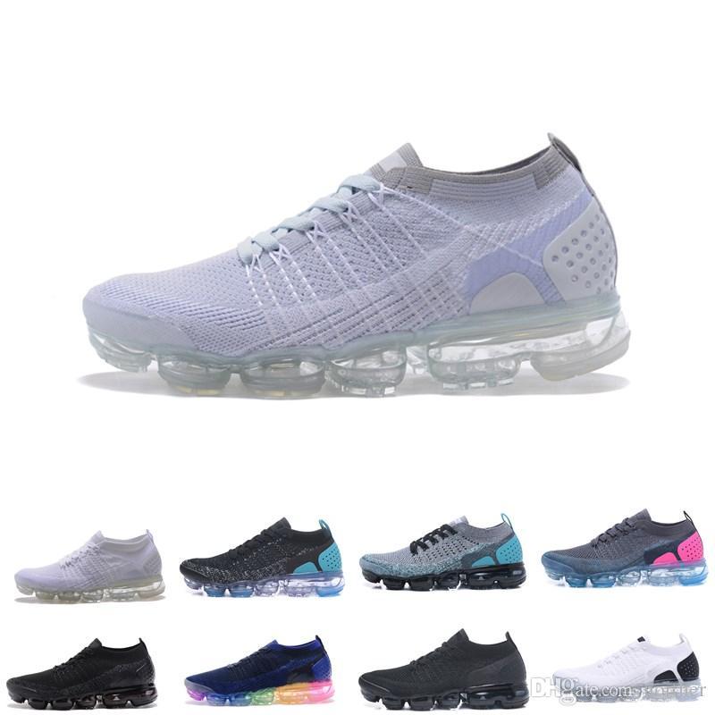Acquista 2018 2 Mens Scarpe Da Corsa Uomo Runner Sneakers Donna Moda Rosa Scarpe  Da Ginnastica Sportive Escursionismo Jogging Walking Scarpe Da Esterno A ... 9a9467b220c
