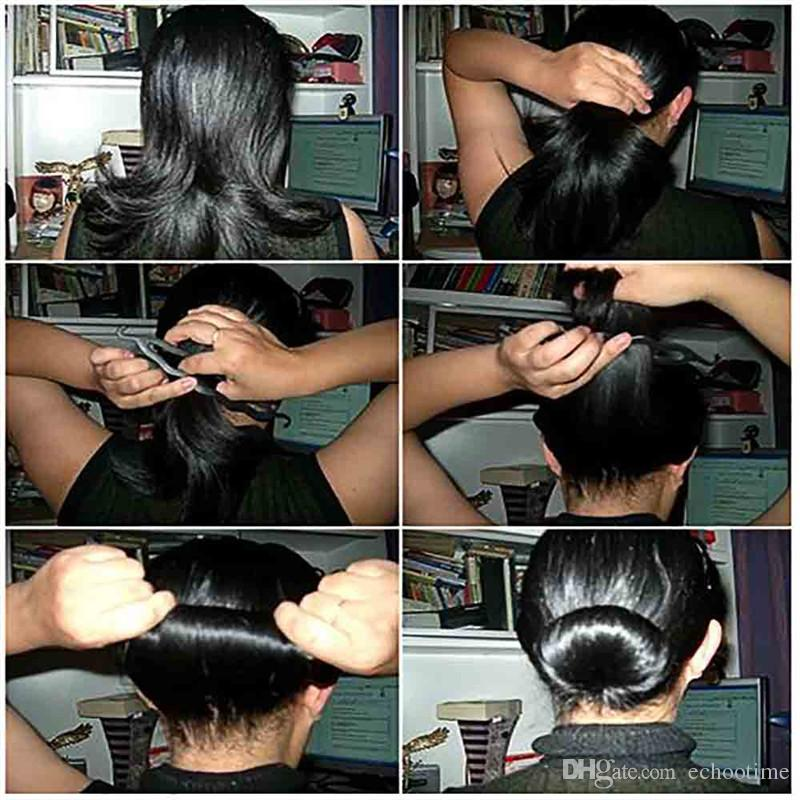 Magic Hair Pony Tail Maker Plastica Hair Styling Bun Maker Shaper Braid Holder Clip Twist Tool Hair Twist Styling Clip