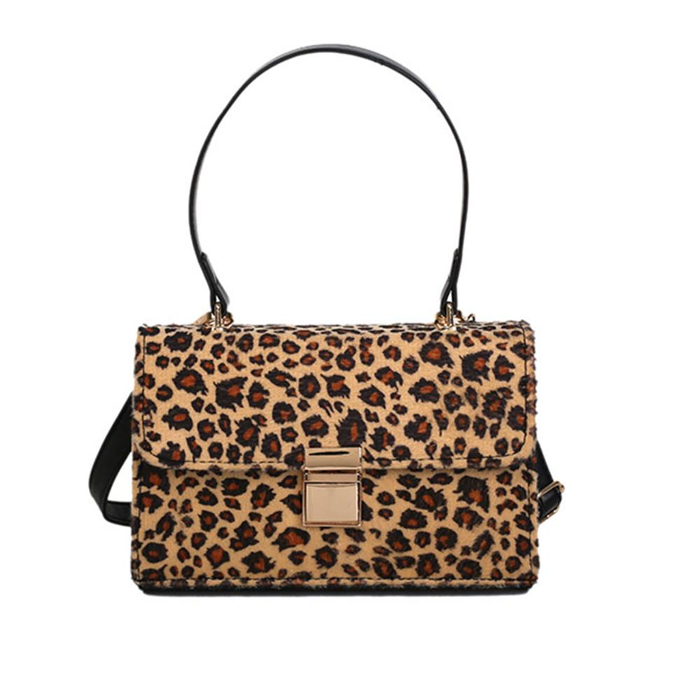 091f64540ea6 2018 Autumn Winter Small Handbags Leopard Women Small Shoulder Bags Ladies  Pu Leather Messenger Bag Sac A Main Wholesale Purses White Handbags From  Saltyk