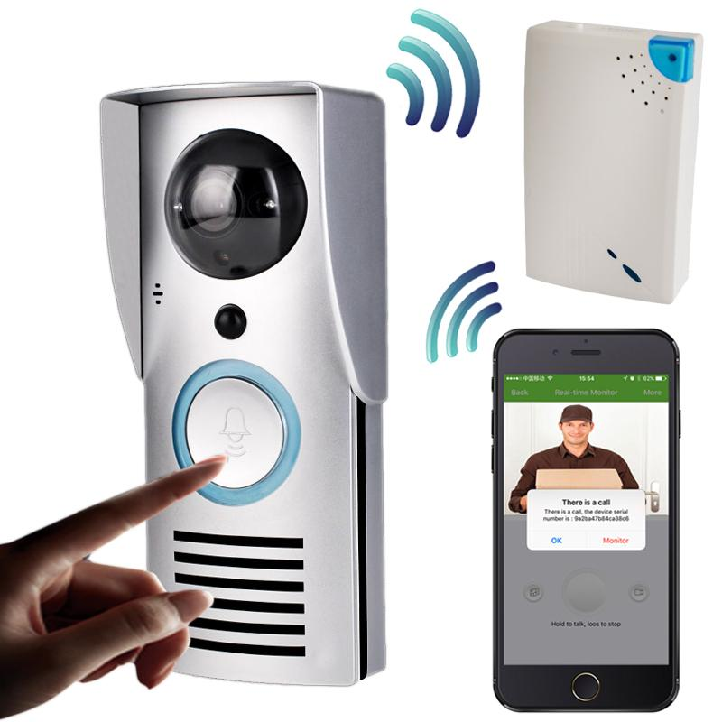Wifi 720p Video Doorbell Wireless Door Phone Intercom Monitor Smart Bell Hd Camera Pir Motion Sensor Night Vision Unlock Voice Doorbell Wifi Camera Doorbell ...  sc 1 st  DHgate.com & Wifi 720p Video Doorbell Wireless Door Phone Intercom Monitor Smart ...