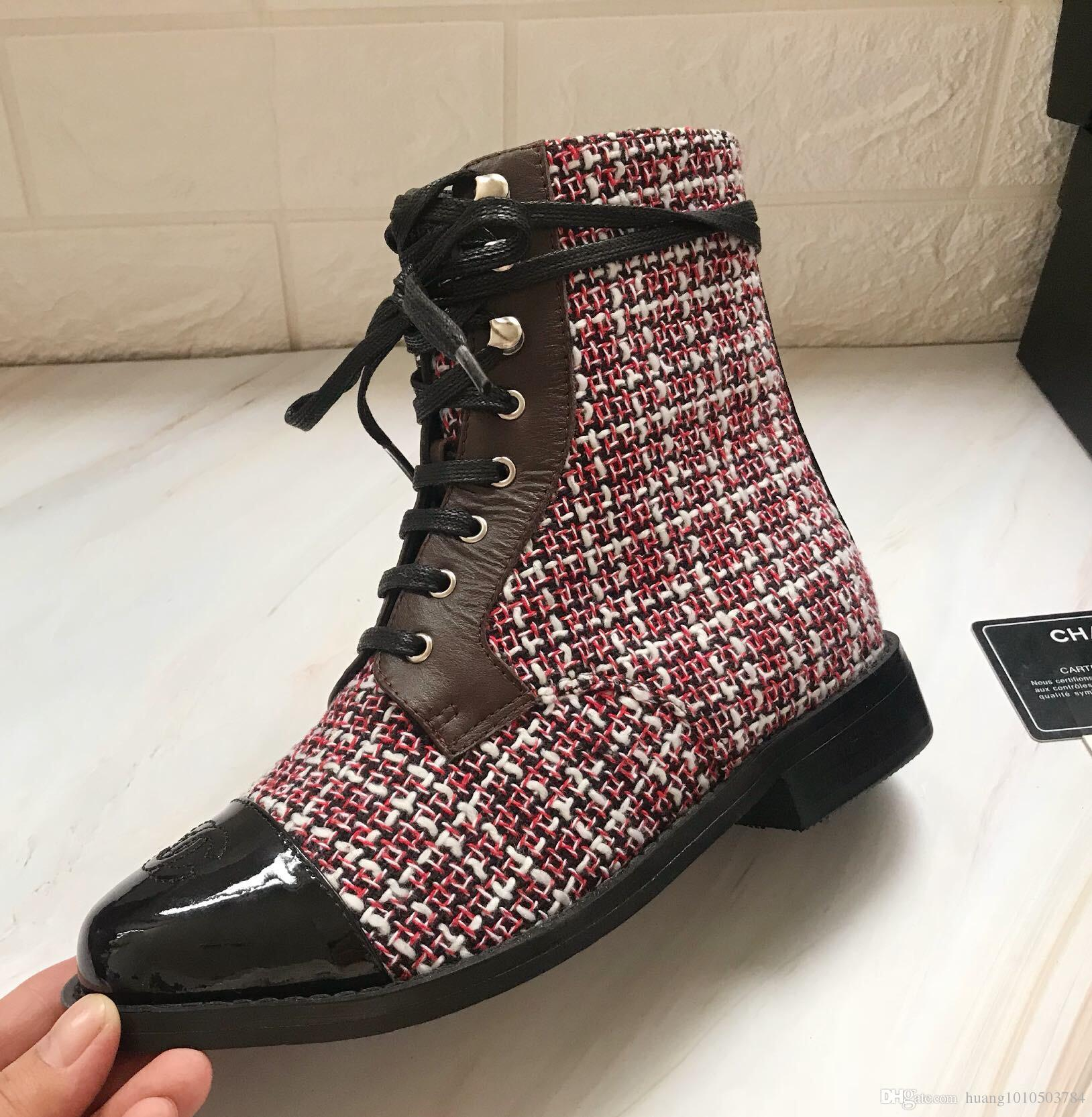 Luxury Brand Women's Short Ankle Boots