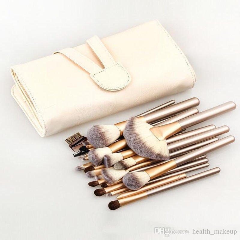 make-up pinsel mybasy neu design professionelle bereite 24 stücke make-up pinsel sets kosmetik oval kosmetische gründel bb creme puder blush dhl