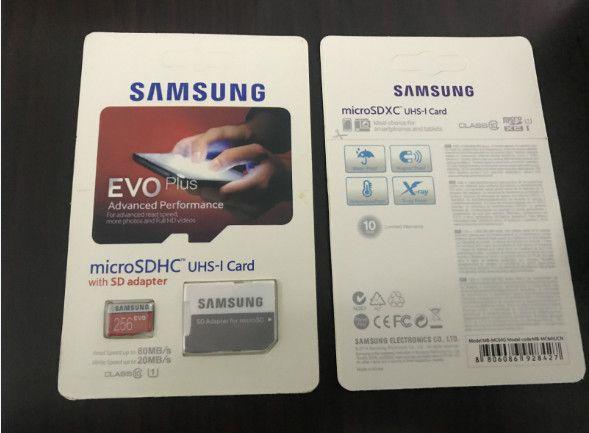 8g 16gb 32gb 64gb 128gb 256gb Samsung Evo Plus Micro Sd Card