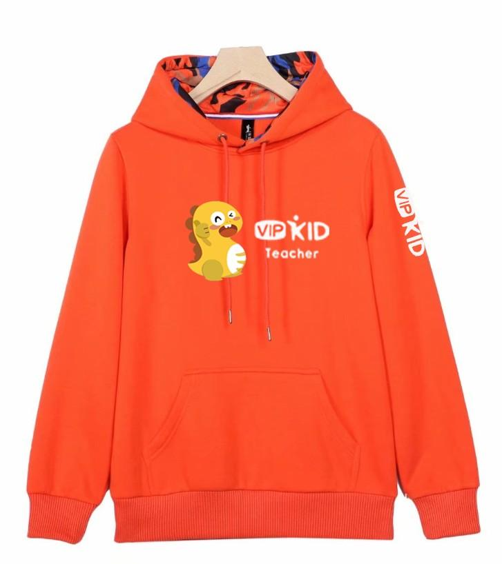graphic regarding Vipkid Dino Printable called Custom made Designed Autumn Wintertime Vipkid Instructor Dino Sizzling Thick Hoodies Sweatshirts For Guys Or Gals Best Top quality Coat Jacket