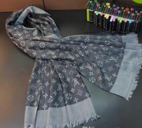 406d5bb2e0a41 Luxury Brand Scarf Letter Pattern Women Scarf LVVVwool Silk Designer ...