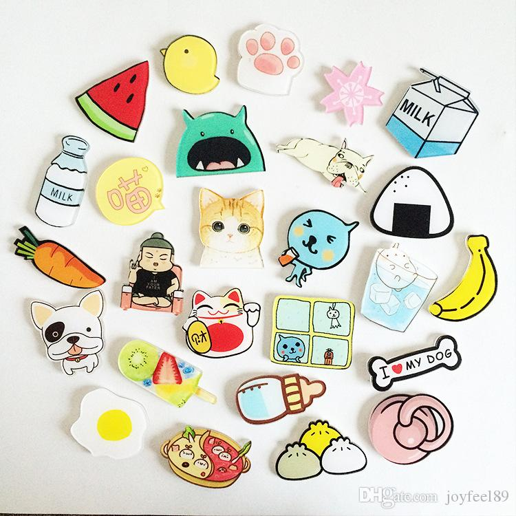 5 order acrylic safty pin for children brooch charm quality using
