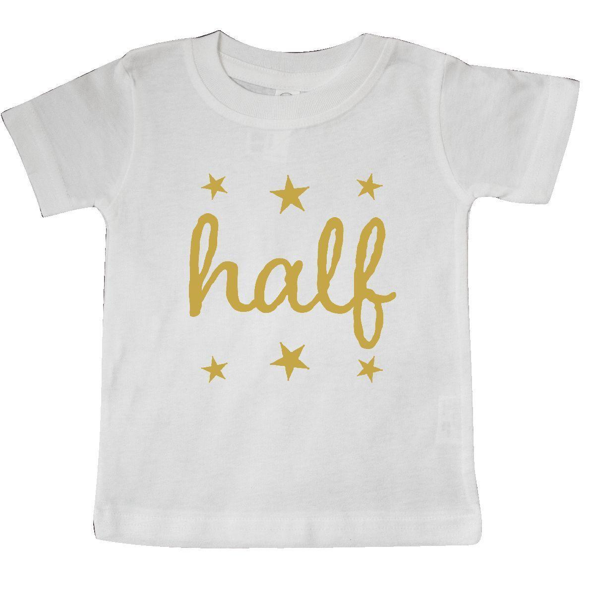 Inktastic Half Birthday 1 2 Photo Outfit Baby T Shirt Clothing 6