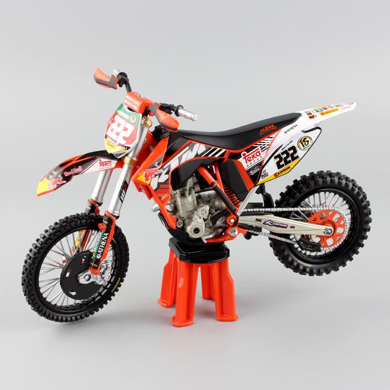 1/12 Scala MX KTM SX-F 450 N 222 AMA Supercross ANTONIO CAIROLI Red ...