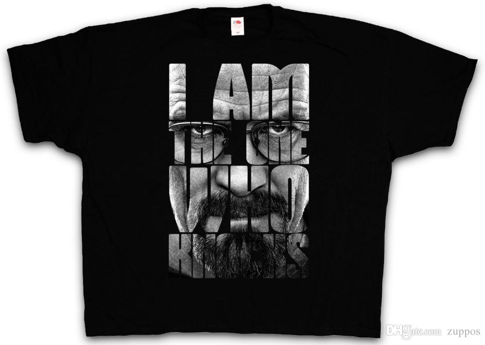 4XL & 5XL THE ONE WHO KNOCKS T-SHIRT Breaking Heisenberg Bad Shirt XXXXL XXXXXLNew Brand Casual Clothing