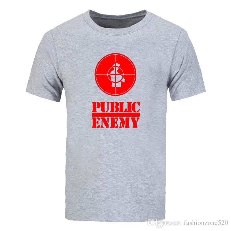 US Rap Equipe Público Inimigo Camiseta Sublimação Impresso T-shirt de Impressão Gráfica Verão Moda Estilo camiseta Novel música tops tees DIY-0208D