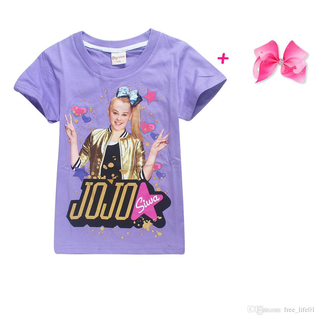 76b9178f72 2019 2018 New Children Summer T Shirt Girls Boys Clothes Jo8jo Si wa  Clothing Short Sleeve T Shirt Kids Cartoon Cotton Tshirt Tops Tees From  Free life01