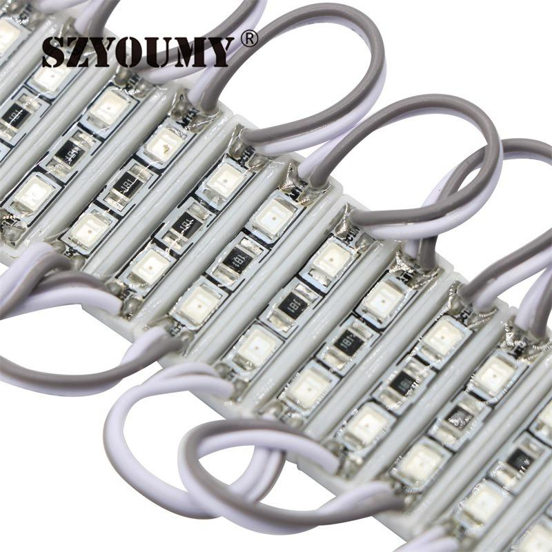 SZYOUMY DC12V 2835 2 LED Modules IP65 Waterproof Led Backlight For Advertising Brighter Than 3528 Mini Led Module