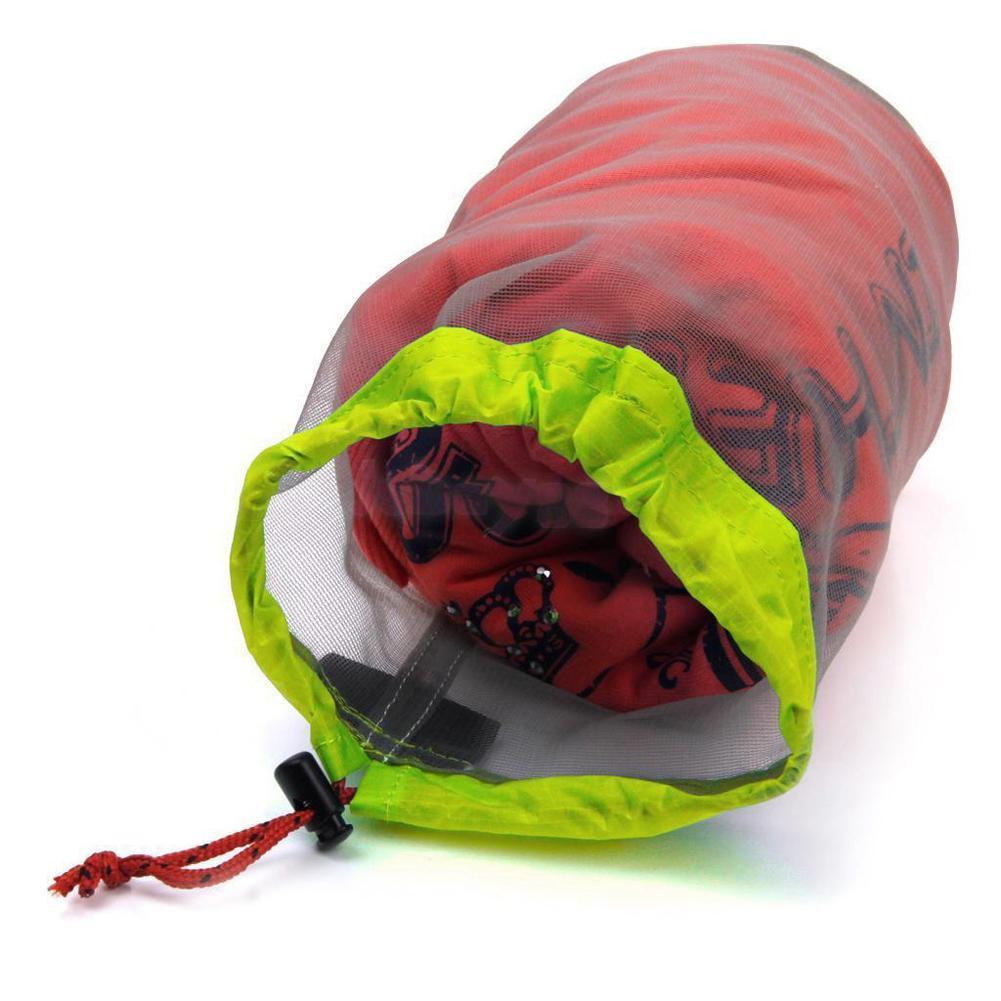 Ultralight Camping Sport Maglia Con Coulisse Borsa Da Campeggio Arrampicata Stuff Sack Drawstring Sacchetto Della Spesa bolsa S-XXL