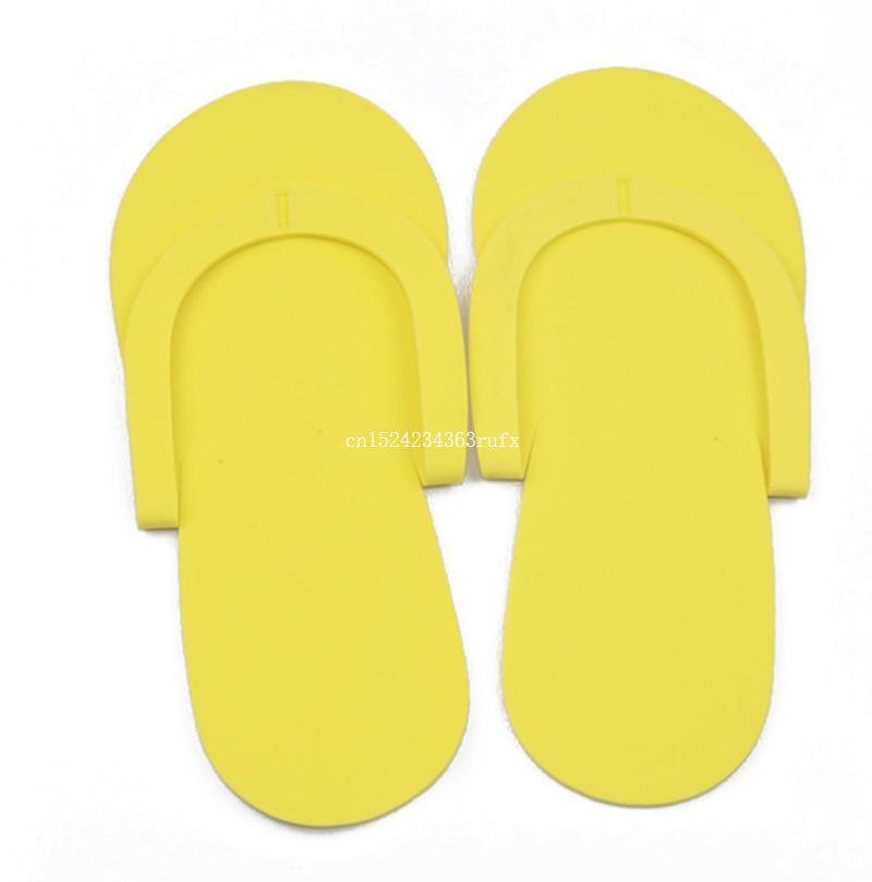 a6e971086c2 EVA Disposable Slippers Foam Salon Spa Hotel Slipper Disposable Pedicure Thong  Slippers Disposable Slippers Wholesale Party Decoration Party Decorations  ...