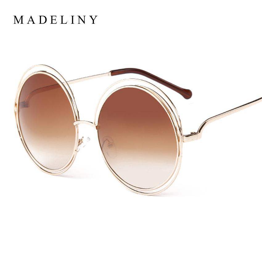 Newest Fashion Carlina Round Wire Frame Sunglasses 2016 New Vintage ...