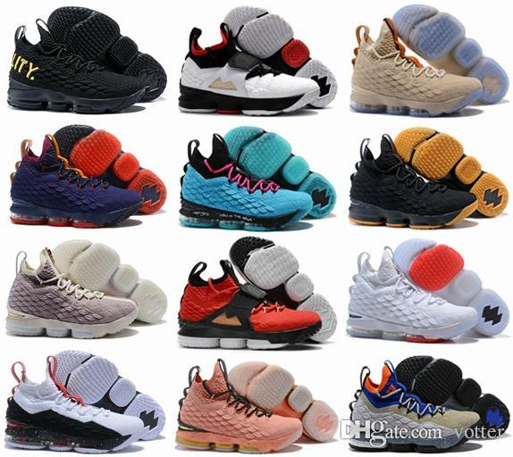 d02c1df018677 With Box 2018 Mens 15 XV 15s AZG Zoom Generation Alternate Diamond Turf  City Edition Basketball Shoes Blue Grey Black Sneakers US 7-12 15s  Basketball Shoes ...