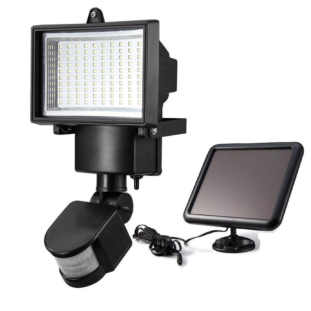 Rab Motion Security Light: Solar Powered Motion Sensor Light PIR Lamp With Solar