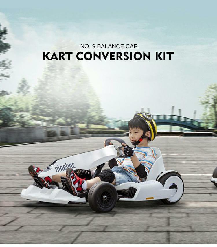 2018 Ninebot Gokart Kart Kit Refit Smart Balance Scooter Kart Racing ...