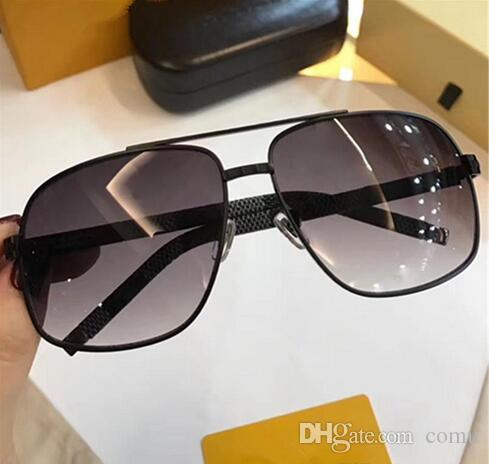 a2848adc3327 0759 Sunglasses Luxury Men Brand Fashion Square Design UV Protection Lens  Coating Mirror Lens Frameless Color Plated Frame Come With Package Online  ...