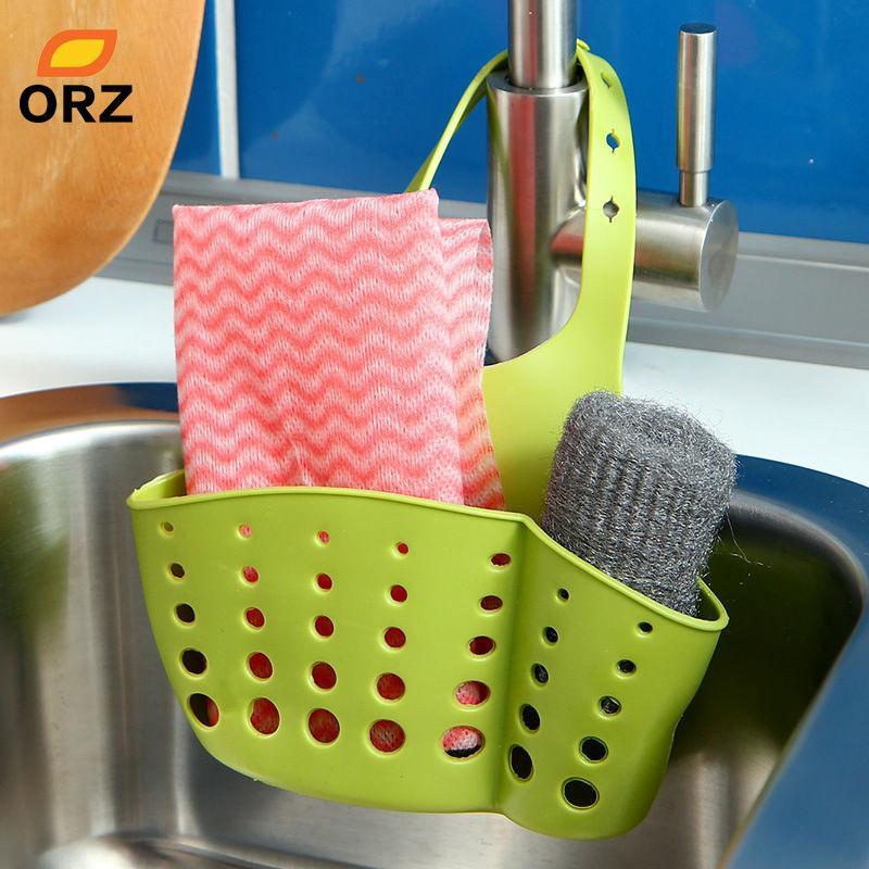 2018 Kitchen Sink Storage Basket Sponge Holder