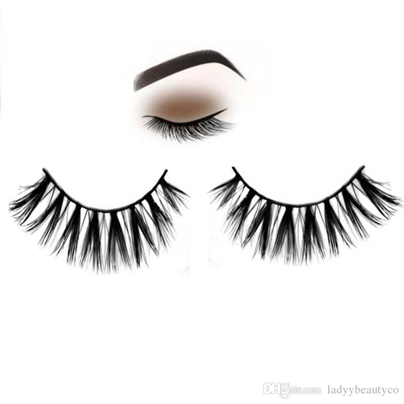 Y 28 Mink Hair Eye Lashes Mink Natural False Eyelashes Fake
