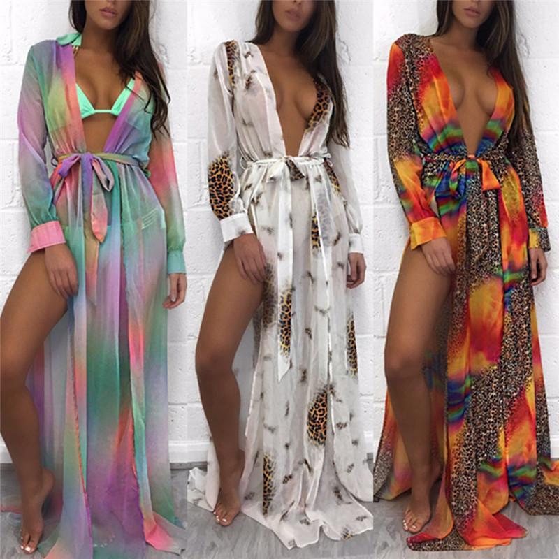 d34d2dac5 Compre Blusa De Playa Bikini Bordado Floral Traje De Baño Cover Up Robe De  Plage Beach Cardigan Traje De Baño Traje De Baño Cubrir A  30.98 Del  Blueberry07 ...