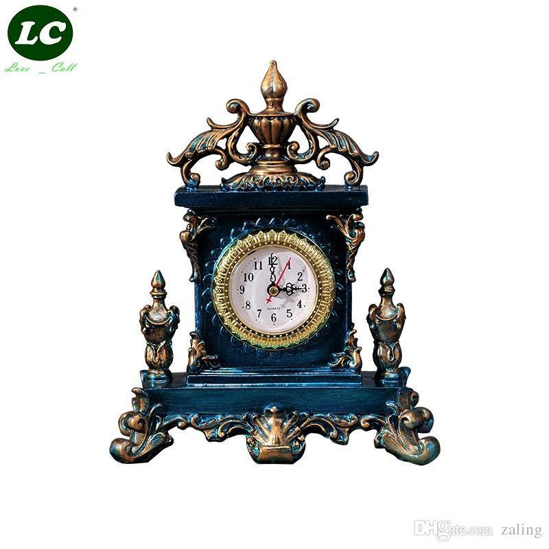 Classic Clock Desk Sitting Room Office Table Mute Pendulum Children Student Art Gift Originality Handcraft From China Dhgate Com
