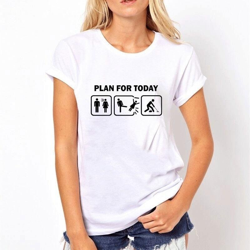 9941bf722 Curling Sport Funny Women Summer T Shirt Female Printed It Custom High  Quality Tops Tee Ladies Pattern Cotton 3d Printing GAMING INTERESTING T  Shirts Funny ...