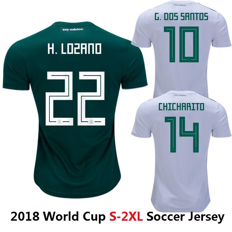 2018 A. GUARDADO National Shirt R.MARQUEZ R.JIMENEZ CHICHARITO ... cde878c64
