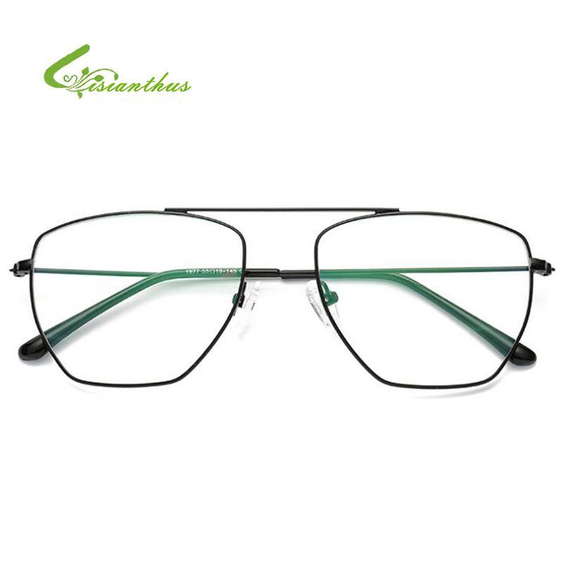 2018 Unisex Vintage Pilot Glasses Frame Women Men Metal Frame Retro Optical  Clear Lens Eye Glasses Frames Eyewear Lentes Mujer Serengeti Sunglasses Sun  ... 879454e777d