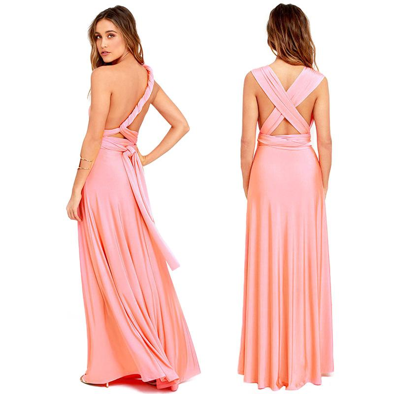 Sexy Women Multiway Wrap Convertible Boho Maxi Club Red Dress Bandage Long Dress  Party Bridesmaids Infinity Robe Longue Femme Christmas Party Dresses Night  ... 76312a5a1821