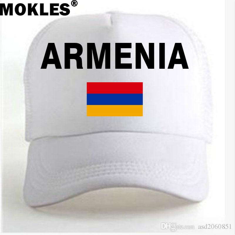 ARMENIA Youth Student Caps Free Custom Made Name Number Photo Red Black  Country Armenian Nation Flag Am Men Casual Advertising Ball Cap Design Your  Own Hat ... efa14c9aab28