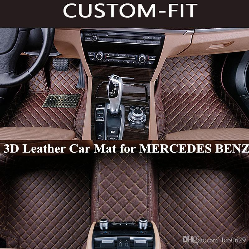 2019 Custom Car Floor Mats For Mercedes Benz C300 Glk 350 Ml350 W204