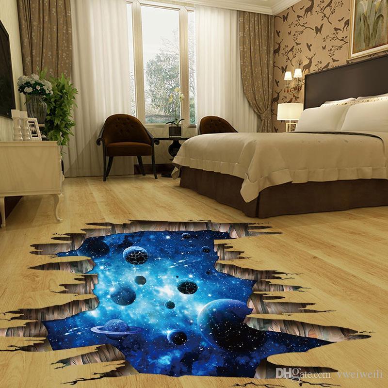 Acquista 3d Cosmic Spazio Galassia Bambini Adesivi Murali Camere Dei ...