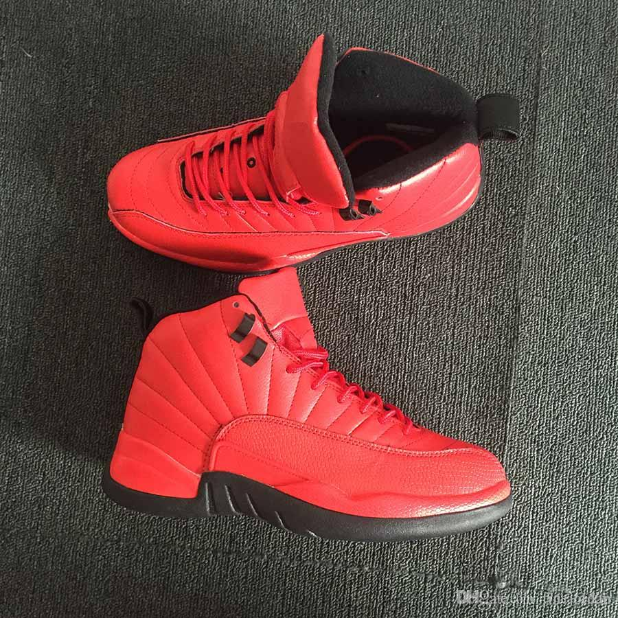 da68f4b71670 Authentic Quality 12 XII Bulls Gym Red Black Men Basketball Shoes 130690 601  Classical Jump Man Luxury Designer Mens Shoes Running Sneakers Nude Shoes  ...