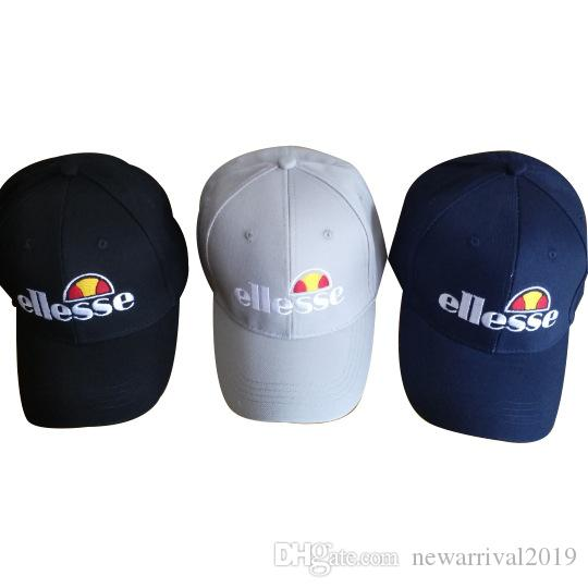 c67ecd91a32543 2018 Men's Women's Ellesse Baseball cap For MenIcon Cap 1 Snapbacks 6 Panel  Black Adults Ball Caps Free Shipping