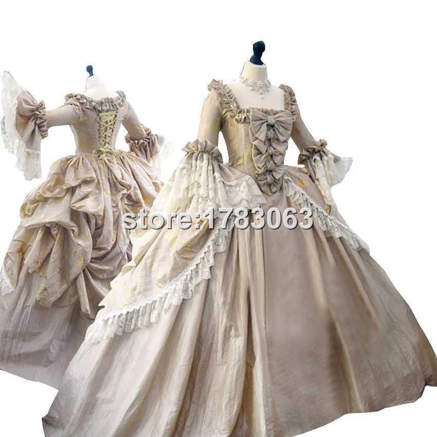 compre el Último vestido rococó de maría antonieta colonial