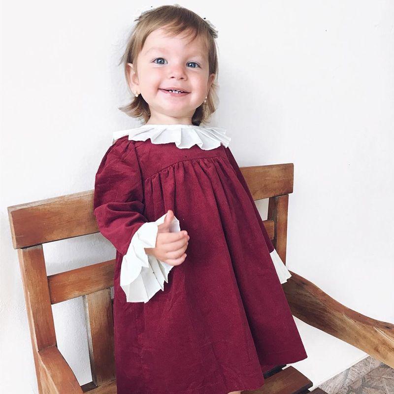 39bd6039127c5 Acheter Everweekend Enfants Filles Ins Chaud Rouge Couleur ...