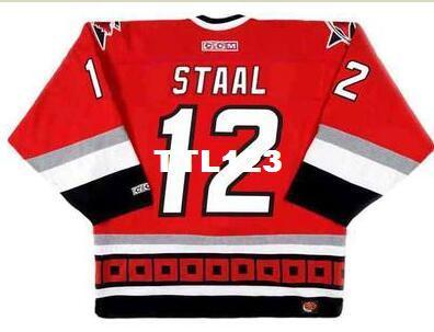7a308035 2019 Mens #12 ERIC STAAL Carolina Hurricanes 2003 CCM Retro Away Hockey  Jersey Or Custom Any Name Or Number Retro Jersey From Ttl123, $20.11 |  DHgate.Com
