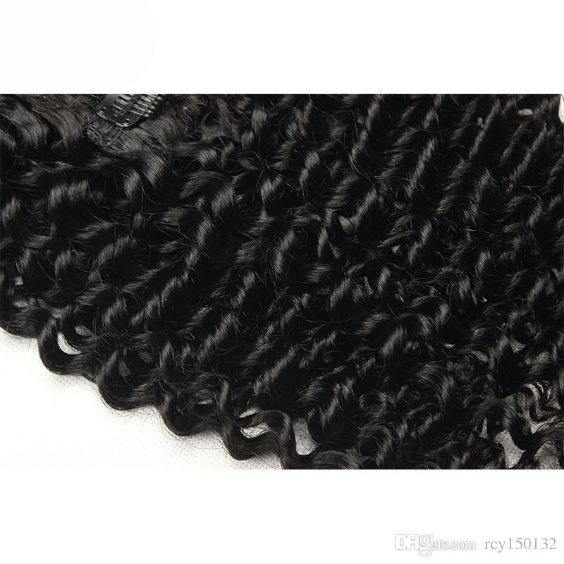 غريب مجعد الشعر آلة صنع ريمي كليب في الشعر الإنسان ملحقات سميكة اللون الطبيعي 100G /